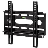 Hama TV-Wandhalterung Ultraslim für 48 - 94 cm Diagonale (19-37 Zoll), für max. 25 kg, VESA bis 200 x 200, schwarz