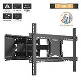 1home TV Wandhalterung Schwenkbar Neigbar für 37-80 Zoll LCD/LED Fernseher