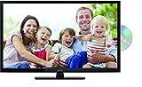 Lenco DVL-2862 28 Zoll (70cm) LED-Fernseher mit DVD-Player - Triple-Tuner (DVB-T/T2/S2/C) - 12 Volt Kfz-Adapter - Mit HDMI, USB SCART und Cl+ Anschluss - Fernbedienung - Schwarz